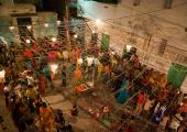 Dandiya under Navratri
