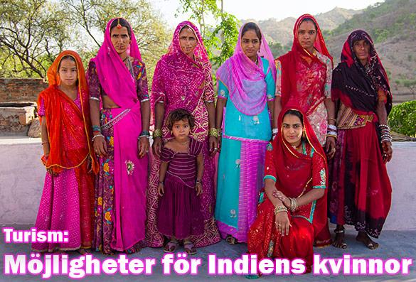 Den indiska turistnäringen ger stora möjligheter till kvinnor och landsbygden