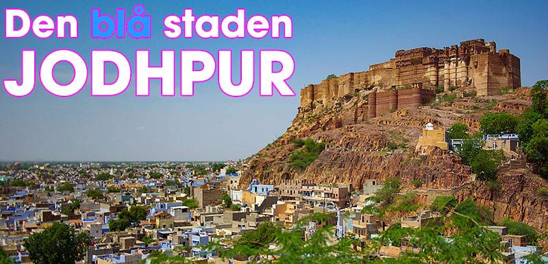 Den blå staden Jodhpur