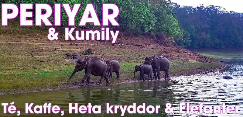 Periyar Wildlife Sanctuary & Kumily, Kerala, Indien